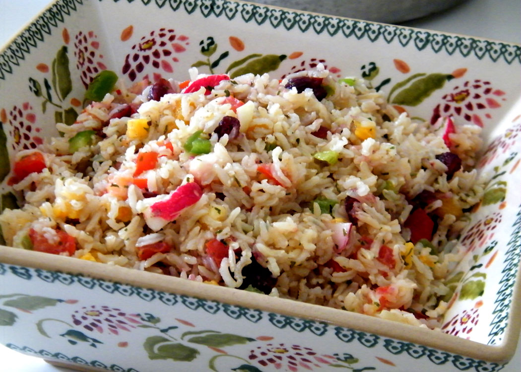 basmati rice with summer basmati rice with summer basmati rice salad ...