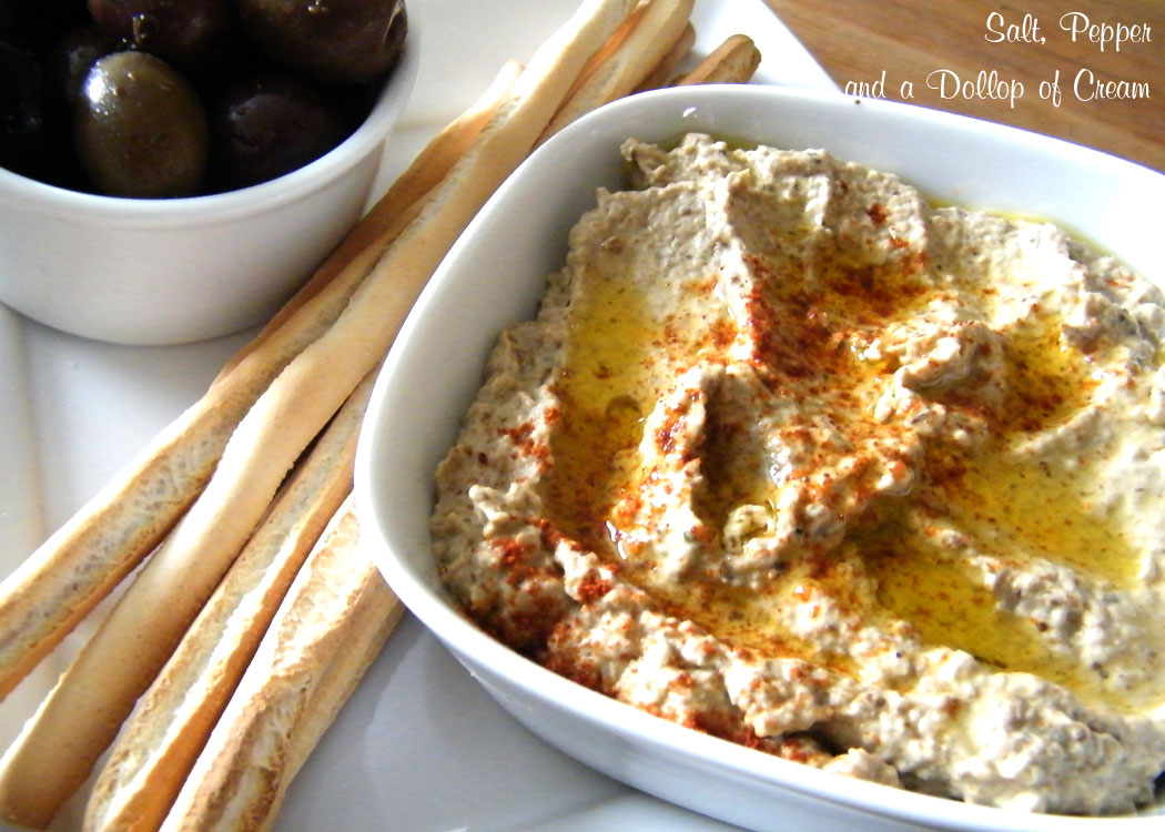 Baba Ghanoush | Salt, Pepper and a Dollop of Cream